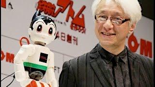 手塚治虫生誕90周年を記念して、講談社など5社が開発した家庭用コミュニケーションロボット「ATOM」が発表された。家族を認識し、会...