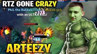 Video Arteezy Gone CRAZY MODE - 3x ULTRAKILL Can't Stop Him download MP3, 3GP, MP4, WEBM, AVI, FLV Agustus 2018