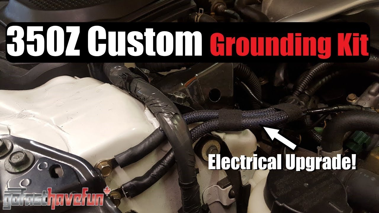 builds 350z elaborate grounding kit anthonyj350 [ 1280 x 720 Pixel ]