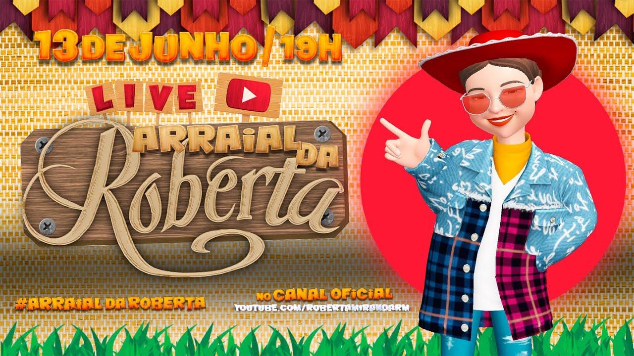 Roberta Miranda | LIVE | Arraial da Roberta #FiqueEmCasa #CanteComigo