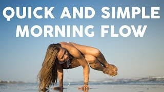 Quick And Simple Morning Yoga | 15-Minute Vinyasa Flow