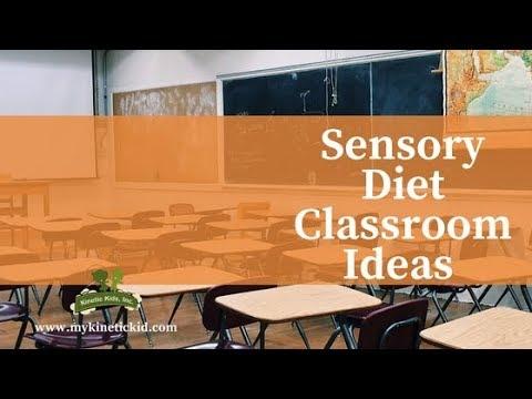 Sensory Diet Classroom Ideas for Students |  Kinetic Kids, Inc.