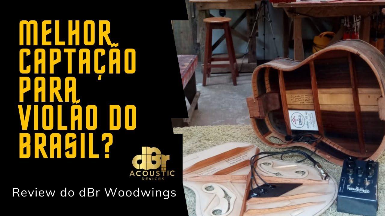 dBr WoodWings System Review - Melhor Captação de Violão do Brasil?