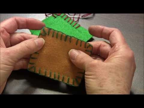 Blanket Stitch - How To Do The Blanket Stitch Around Corners