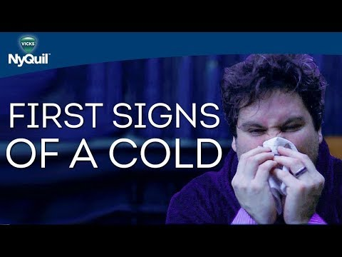 Common Cold Symptoms: First Signs of a Cold | Vicks