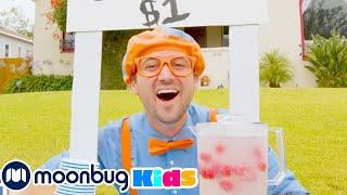 Blippi Lemonade Stand - Learn With Blippi | Blippi Episodes