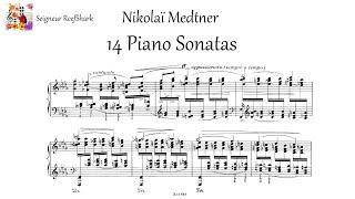 Medtner - 14 Piano Sonatas (Many performers)