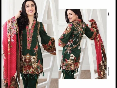 Alkaram Latest Summer Colorful Lawn Dresses Collection 2017  2018
