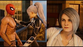 Marvel's Spider-Man: Silver Lining All Silver Sable & Black Cat Scenes