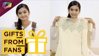 Download Video Anushka Sen Receives Gifts From Her Fans | India Forums MP3 3GP MP4