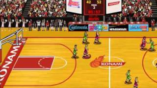 Classic Games-Double Dribble Fast Break GamePlay