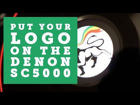 How to put custom logo artwork on the DENON DJ SC5000 Prime