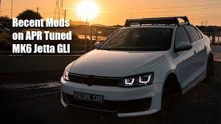 Recap of recent mods on APR Tuned VW MK6 Jetta GLI