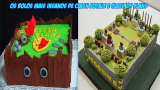 Os bolos mais insanos de Clash Royale e Clash of Clans