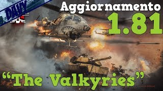 """War Thunder - AGGIORNAMENTO 1.81 """"The Valkyries"""" - VEDIAMO LE NUOVE UNITà"""