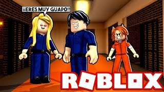 MY BOYFRIEND IS IN LOVE OF ANOTHER CHICA IN THE PRISON OF JAILBREAK (ROBLOX) 😱