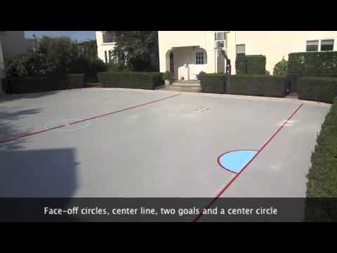 Backyard Hockey Rink YouTube - Backyard roller hockey rink