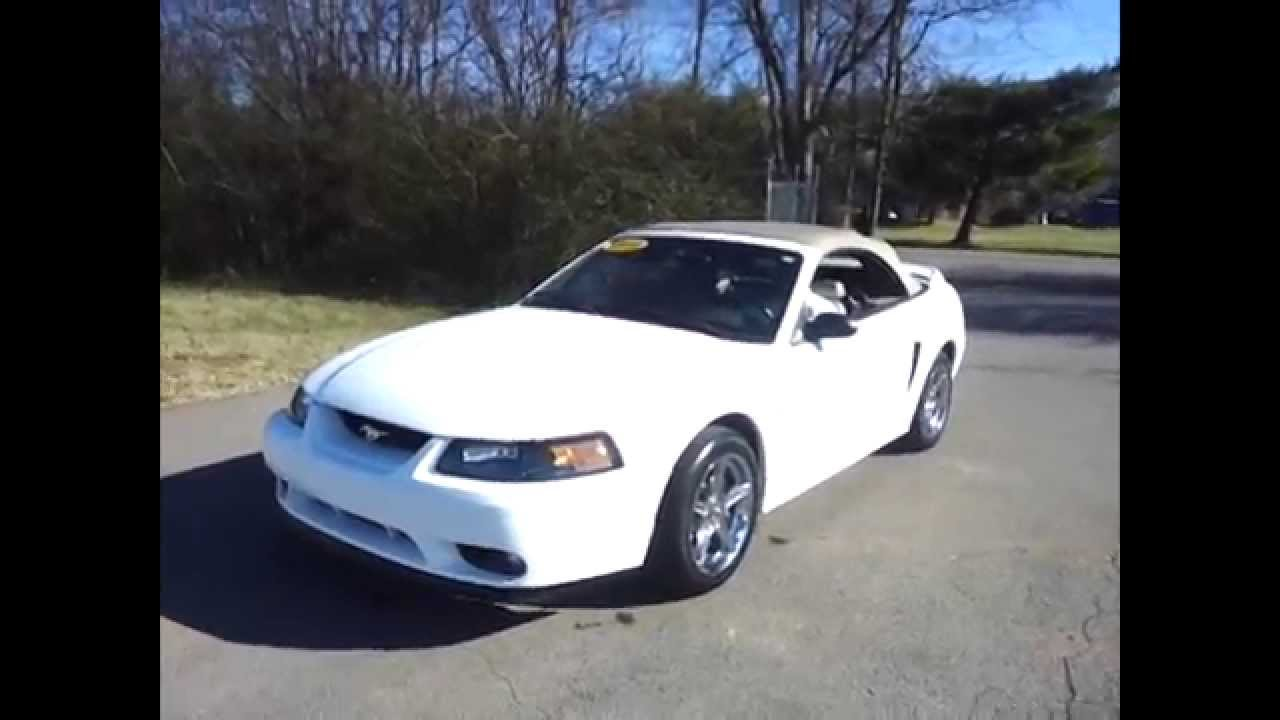 sold1999 SVT Mustang Cobra Convertible for Sale 320HP 46 Call