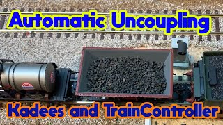 Lets dance with an Automatic Uncoupling (Kadees)| TrainController V9