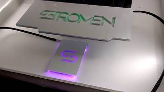 Stromen GPU Backplate and addressable RGB SSD cover