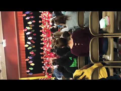 Christmas concert at rees elementary school