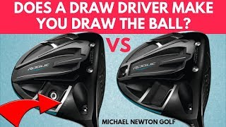 Do Draw Drivers Work? Callaway Rogue Draw Driver VS Rogue Standard Driver