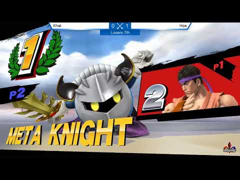 LR6 - Khal [Ryu] vs. Hoe [Meta Knight] - Smash ULtime 4