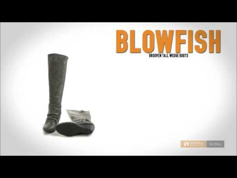 Blowfish Brooven Tall Wedge Boots (For Women)