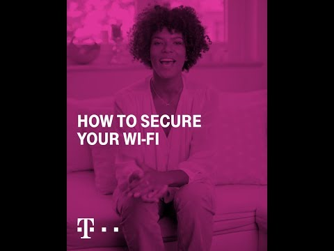 Social Media Post: Digitallysecure. How to set up a secure Wi-Fi network
