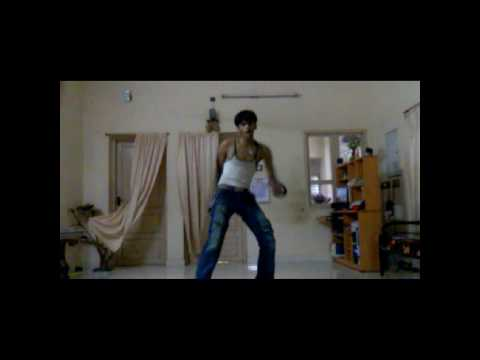 Hrithick Roshan Dance Practice-Dhoom2 By Sanju