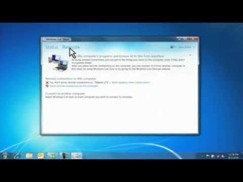 Windows Live Mesh ile Uzaktan Bağlanma