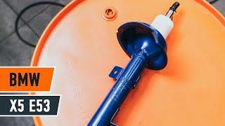 Changer amortisseurs avant BMW X5 E53 TUTORIEL | AUTODOC