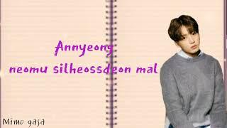 BTS - Annyeong / Majimak insa easy lyrics (prod. by RM)