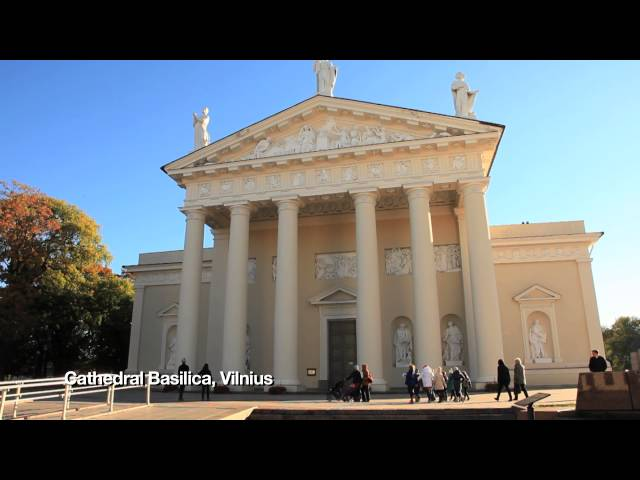 Cathedral Basilica, Vilnius, Lithuania - Unravel Travel TV