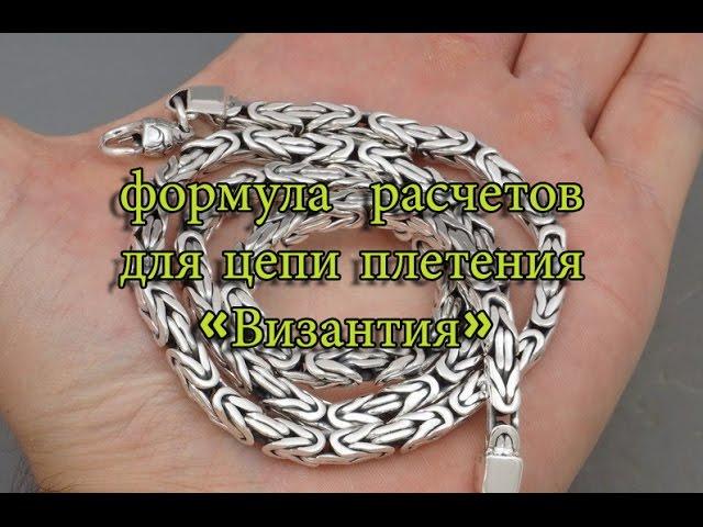 Формула для расчетов цепи