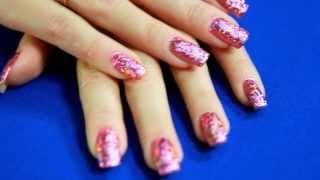 Как сделать маникюр с использованием переводной фольги.(Ультрасовременный тренд в ногтевой индустрии - литье или голливудский маникюр, теперь Вы легко можете созд..., 2013-09-03T18:11:58.000Z)