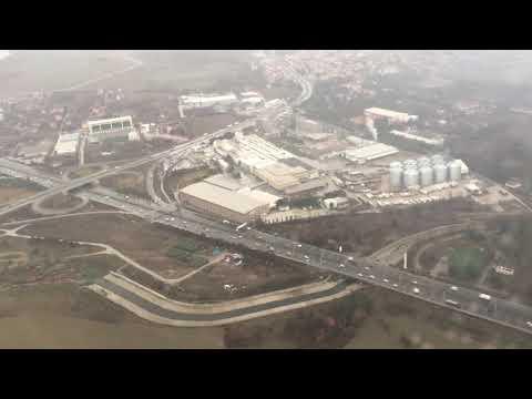 Ankara Esenboga International Airport - AnadoluJet Landing 04.01.2018