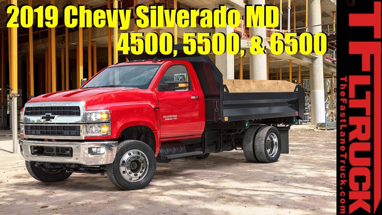 Big Boys: 2019 Chevy Silverado 4500 & 5500 are Here ...