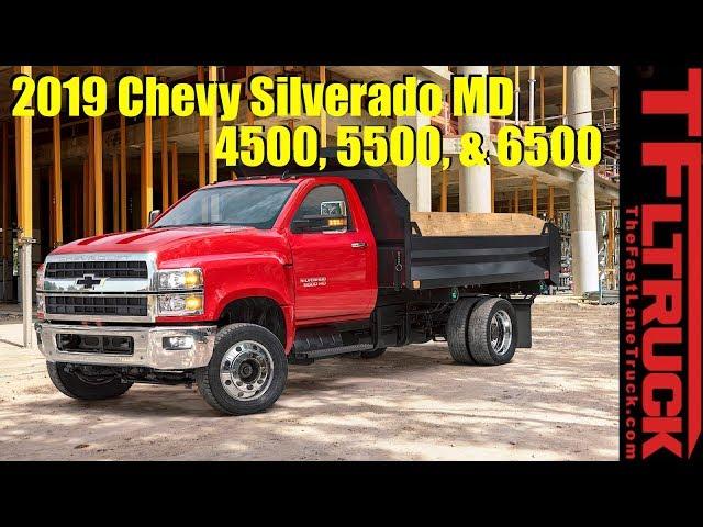 2019 Chevy Silverado 4500, 5500, and 6500: New Big Boy