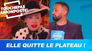 Propos sur la PMA, Geneviève de Fontenay quitte le plateau