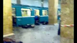 Теракт в московском метро.
