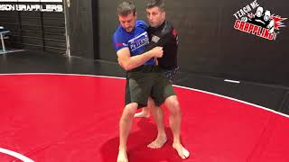 One of the Most EFFECTIVE Self Defense Takedowns!!