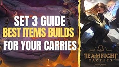 TFT   SET 3 BEST ITEM BUILDS FOR CARRIES   AceofSpades   Team Fight Tactics