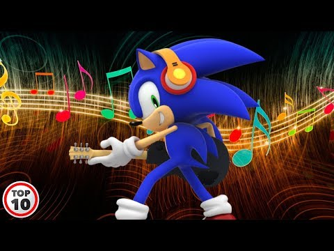 Top 10 Sonic Character Theme Songs