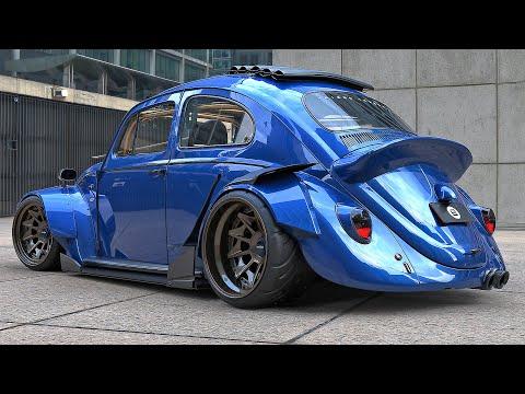 Volkswagen Fusca/Beetle- RWB Com Rodas Rotiform CVT