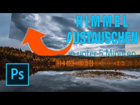 HIMMEL AUSTAUSCHEN In Adobe Photoshop - In Weniger Als 5 Minuten!