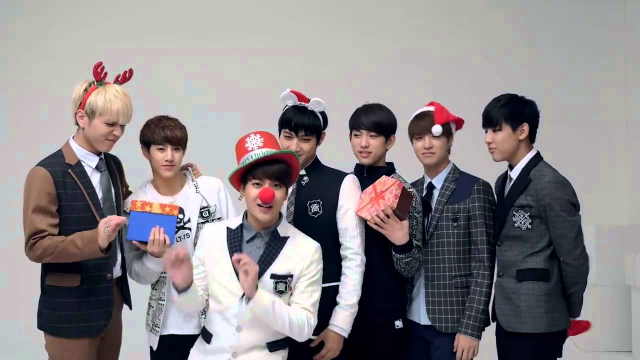 141225 GOT7 SMART Merry Christmas Greeting - YouTube