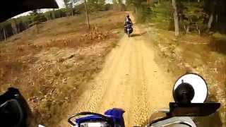 DR650 WR250R Expedition Michigan Dualsport Adventure