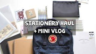 Stationery Haul + Mini Vlog | Indonesia