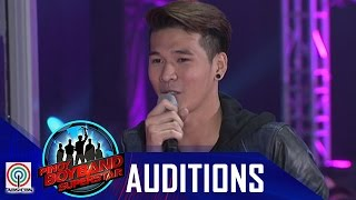 "Pinoy Boyband Superstar Judges' Auditions: Wilbert Rosalyn – ""Can't Take My Eyes Off Of You"""